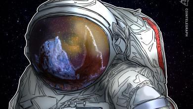 """صورة الرئيس التنفيذي لشركة دوجكوين """"إيلون مسك"""" يُطلق البشر إلى المدار"""