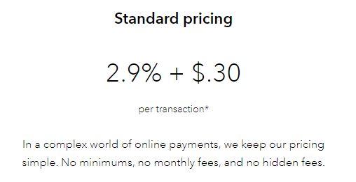 Pricing Braintree Payments