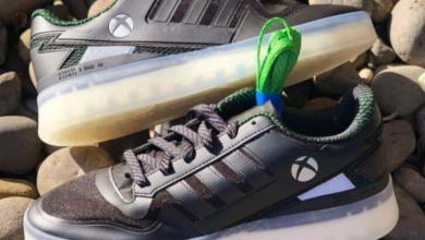 صورة شراكة بين إكسبوكس و أديداس لإطلاق أحذية رياضية مزينة بشعار وحدة التحكم