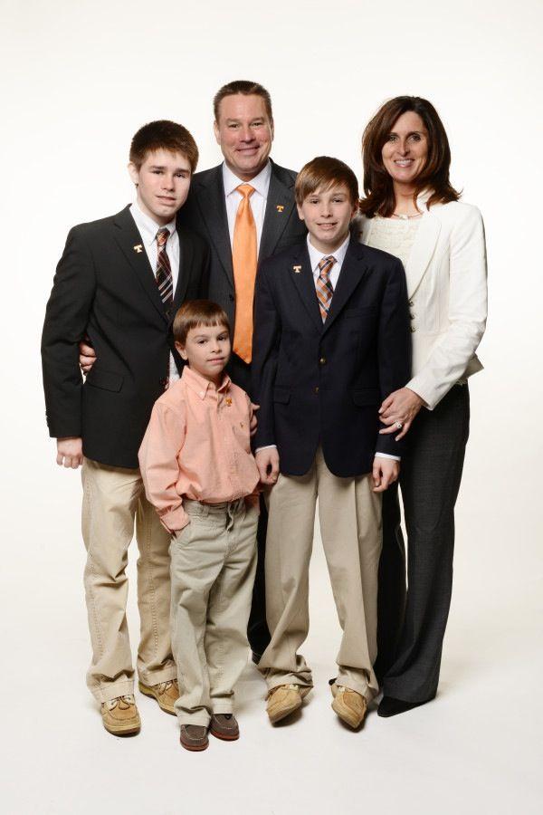 بوتش جونز مع عائلته