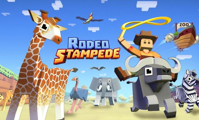 لعبة حلبة الثيران مجانا للكمبيوتر والموبايل- Rodeo Stampede