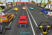 لعبة سباق سيارات الطريق السريع