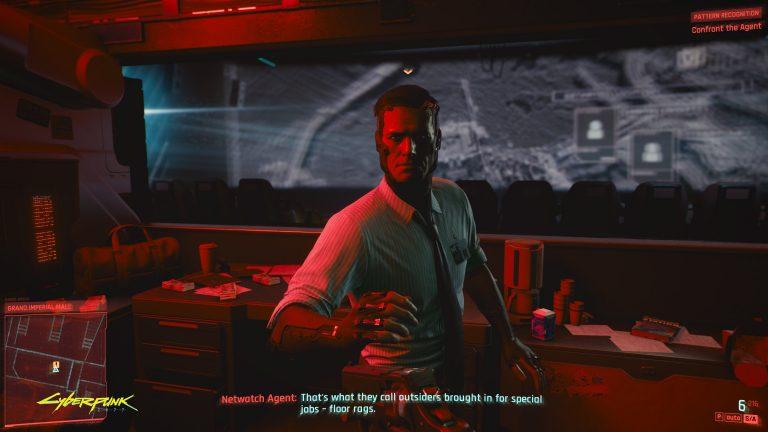 لعبة سايبر بانك Cyberpunk
