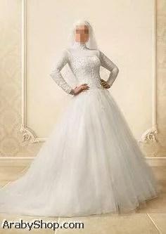 فساتين أعراس للمحجبات (7)