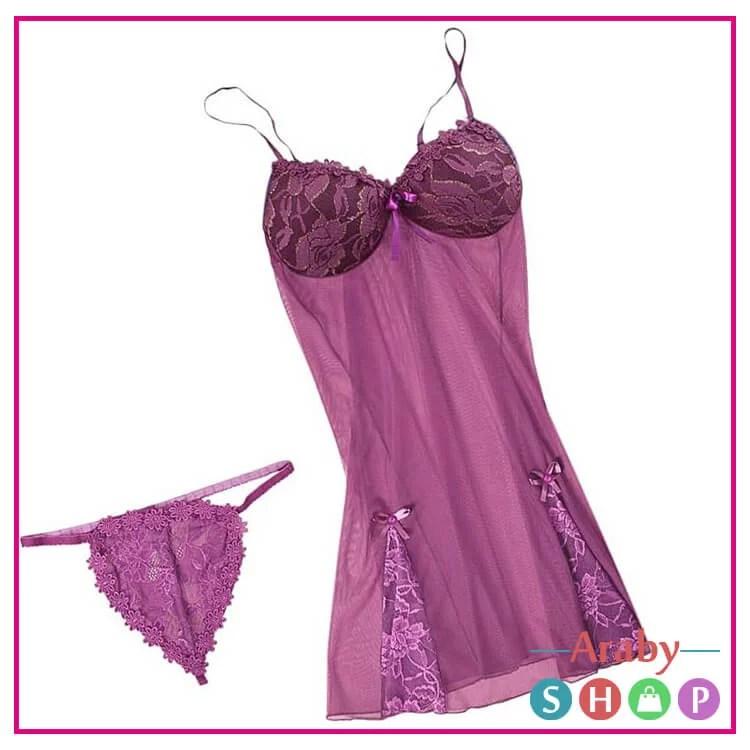 قمصان نوم دلع cute lingerie sets (51)
