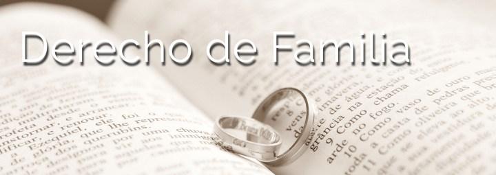 Abogado de familia en Castellón - Derecho Familiar