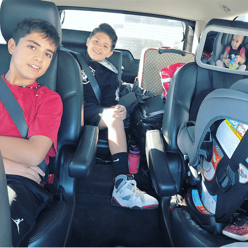 survive a road trip with kids