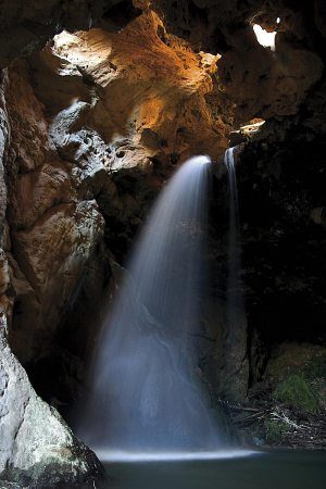 Cascada o chorro de Las Palomas (Las Parras de Martín).