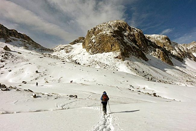 GR 11, pico Piedraficha.