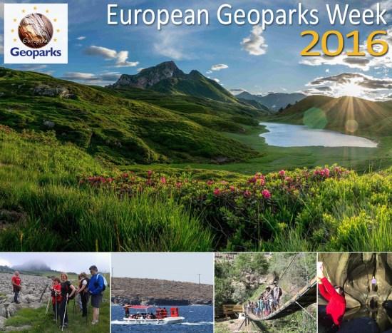 EGN Week 2016 -Semana Geoparques