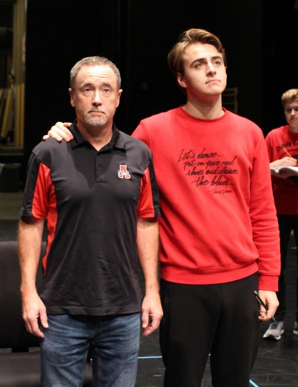 Mr. Daniel & Joey-rehearsal