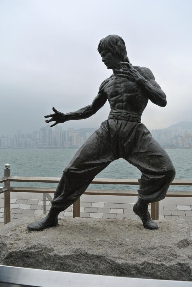 Estatua de Bruce Lee. Foto: maryaddison80