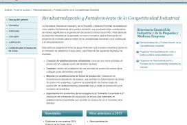 REINDUS-Convocatoria de apoyo financiero a la inversión industrial en el marco de la política pública de reindustrialización y fortalecimiento de la competitividad industrial.