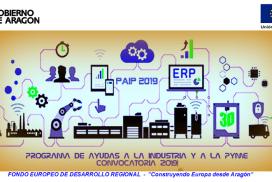 Convocatoria 2019 del Programa de Ayudas a la Industria y a la PYME (PAIP2019)