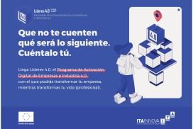 ITAINNOVA lanza Líderes 4.0, un Programa de Activación Digital de Empresas e Industria 4.0