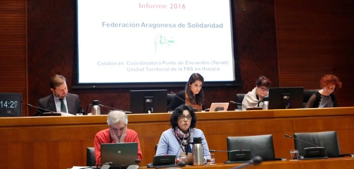 Informe AOD 2016 en Cortes