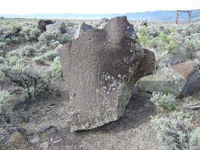 Oregon Petroglyph