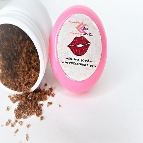 Arah Beet Rush Lip Scrub