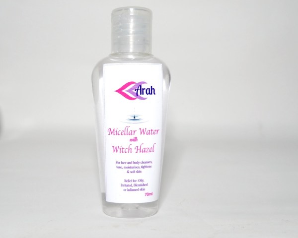 Micellar Water with Witch Hazel