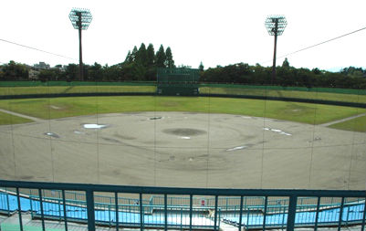 【座席表】郡山総合運動場開成山野球場