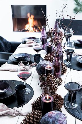 Inspirational Tablescapes for Christmas