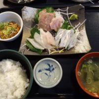 【ごはんメモ】刺身和食 旭屋 土浦市荒川沖/ 海鮮
