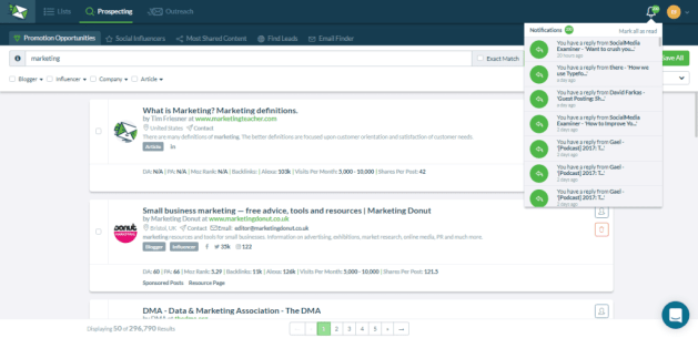 NinjaOutreach Influencer Marketing & Outreach Software All in One