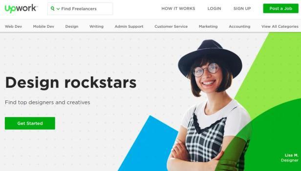 UpWork Hire Freelancers