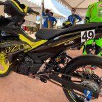 Salah satu busi berteknologi masa kini yang banyak digunakan di ajang balap adalah NGK MotoDX.