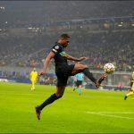 Pemain Inter Milan Denzel Dumfries.