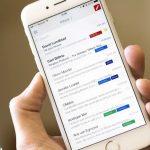 Gmail untuk iOS. Ilustrasi