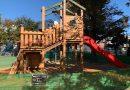 東尾久三丁目北児童遊園と尾久第三児童遊園に新しい遊具が設置されています