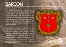 The BARDON coat of arms