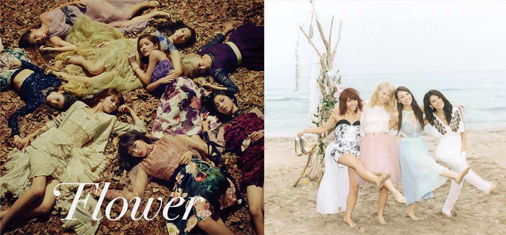 "E-girls' Dream and Flower release PVs for ""Darling"" and  ""Akikaze no Answer"""