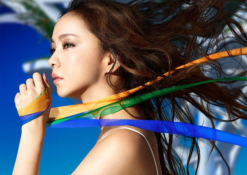 "Covers for Namie Amuro's new single ""Hero""!"
