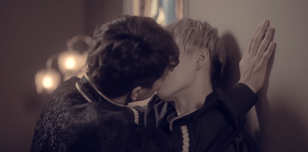"Boy band MeseMoa takes fan service to a new level in ""Shadow Kiss"" MV"