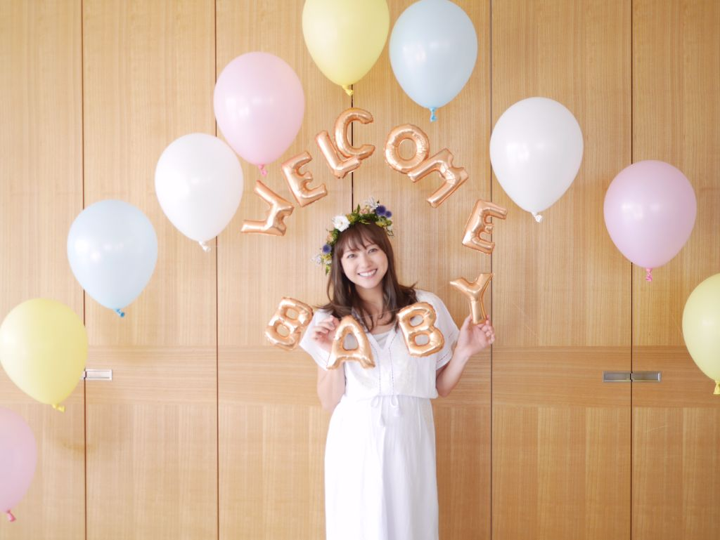 Former AAA member Chiaki Ito Glows at her Baby Shower