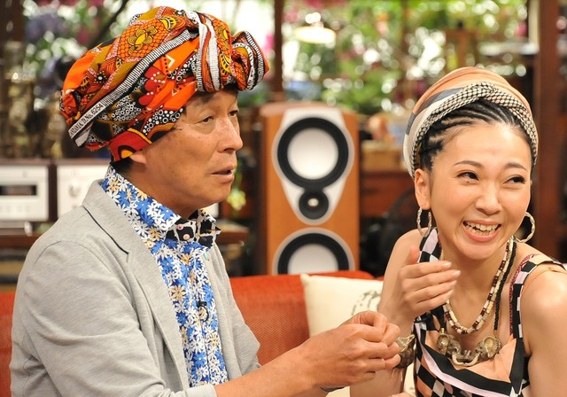 MISIA shares her head wrapping secrets on first variety show appearance