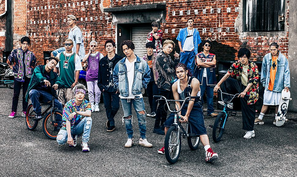 "THE RAMPAGE from EXILE TRIBE go retro with ""Dirty Disco"" short PV"