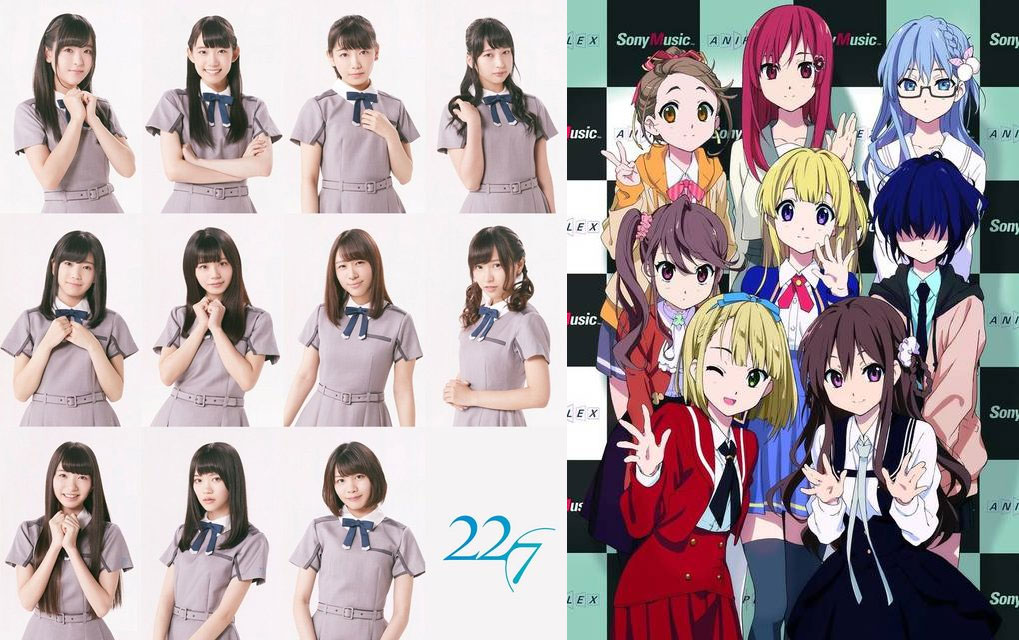 New Yasushi Akimoto-produced Idol Unit 22/7 to Get Its Own Anime