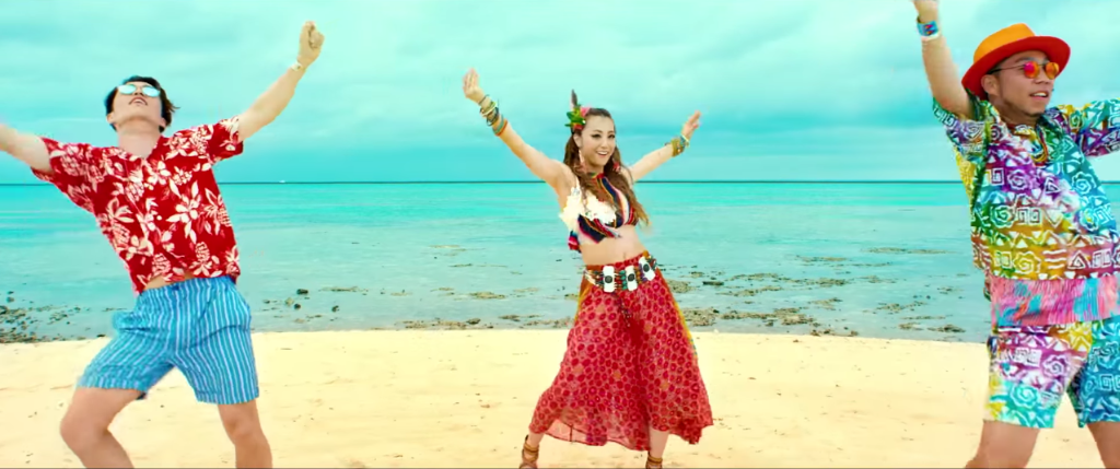 """DANCE EARTH PARTY go on vacation in the """"WAVE"""" MV"""