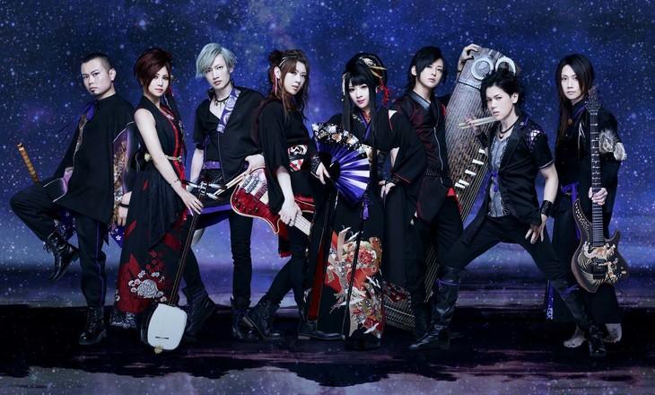 "Wagakki Band releases short MV for new single ""Ame Nochi Kanjouron"""