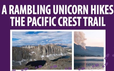 In Which Unicorn Gives a Presentation on her 2017 PCT Hike at the Everson Library