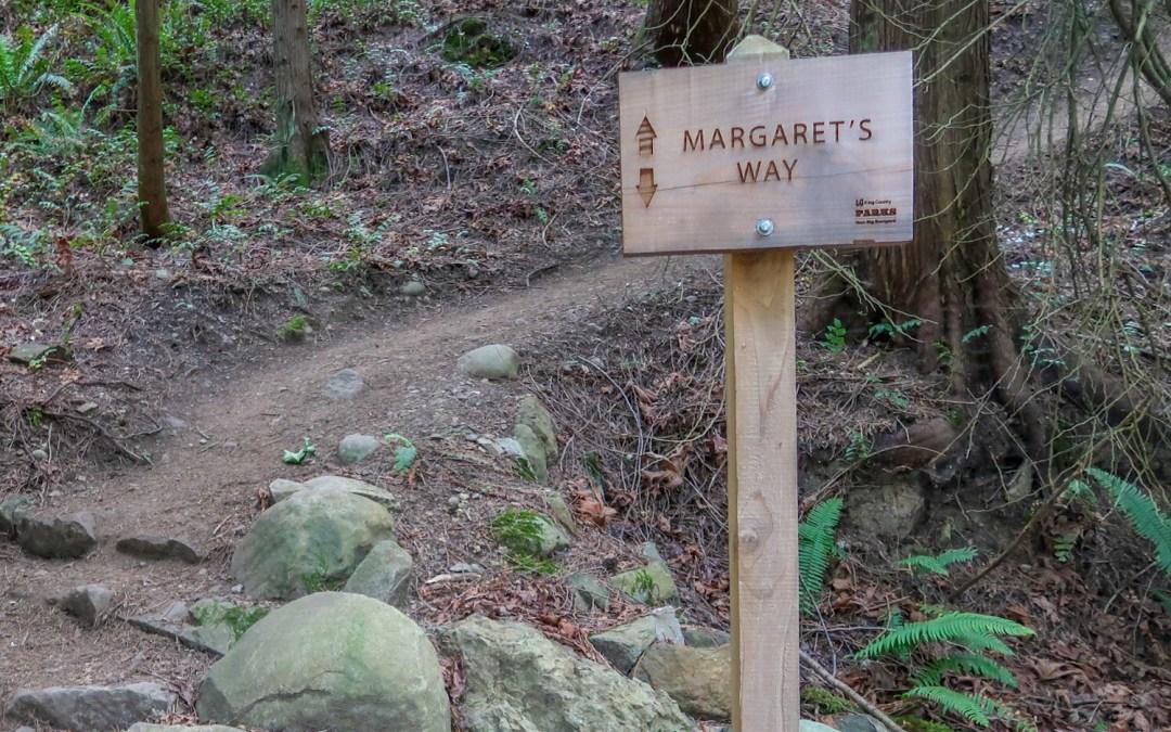 Margaret's Way Trail to Debbie's View on Squak Mountain