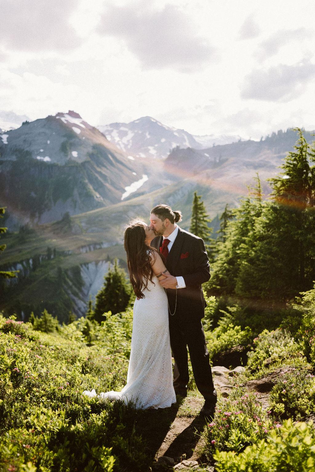 Artist Point Wedding: Katy Shaw and Daniel Callicoat on July 29, 2019