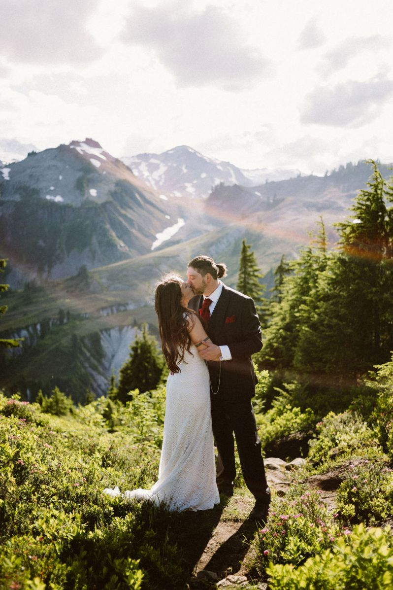 Artist Point Wedding: Katy Shaw and Daniel Callicoat on July 29, 2019