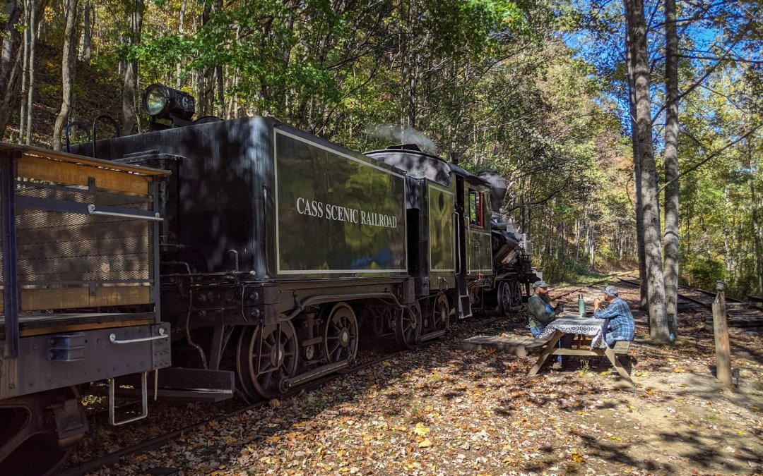 West Virginia Road Trip: Cass Scenic Railroad and the Green Bank Telescope