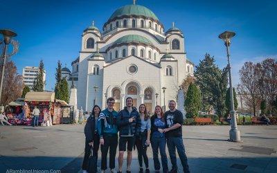 Making New Friends in Belgrade, Serbia