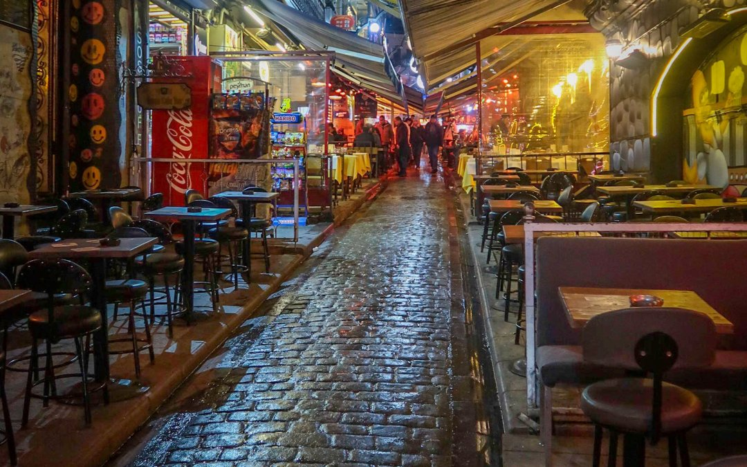 New Year's Eve in Istanbul: Street Food and Birthday Pub Crawl Shenanigans