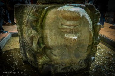 Basilica Cistern - Medusa's Head